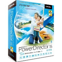 CyberLink PowerDirector 15 Ultra 通常版 Win
