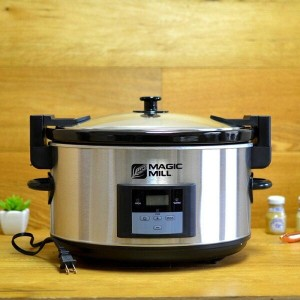 マジックミル スロークッカー 8.0LMagic Mill 8.5 Quart Programmable Slow Cooker【smtb-k】【kb】 【RCP】