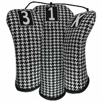 BeeJo Ladies Classic Houndstooth Headcover【ゴルフ レディース>ヘッドカバー】