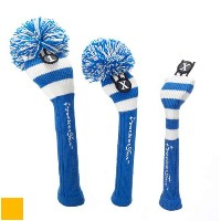 RocketTour Royal Blue Base Rugby Stripe Headcover【ゴルフ アクセサリー>ヘッドカバー】