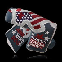Scotty Cameron 2013 Industrial Junk Yard Dog Flag Navy Headcover【ゴルフ アクセサリー>ヘッドカバー】