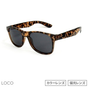 "DANG SHADES [ダン・シェイディーズ] LOCO LIGHT TORTOISE ""LOVE TO ALL"" X BLACK POLARIZE【偏光レンズ】vidg00273"