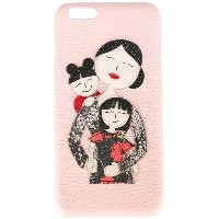 Dolce & Gabbana - Family iPhone 6S Plus ケース - women - カーフレザー - ワンサイズ