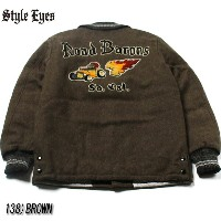 "No.SE13725 STYLE EYES スタイルアイズWOOL MELTON SPORTS JACKET""Road Barons"""