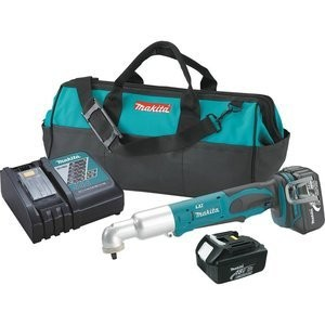 Makita XLT02 18V LXT Lithium-イオン Cordless 3/8-インチ Angle Impact Wrench キット 「汎用品」(海外取寄せ品)