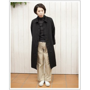 HTSWOOL BALMACAAN COAT[Lady's] ウールロングコート