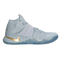 "Nike Kyrie 2 ""BATTLE GREY"" メンズ Wolf Grey/Metallic Gold/Racer Blue ナイキ バッシュ カイリー2 Kyrie Irving カイリー..."