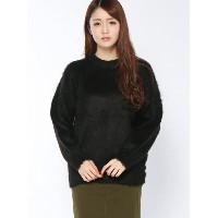 【SALE/45%OFF】X-girl DEEP NIGHT MOHAIR TOP エックスガール ニット【RBA_S】【RBA_E】【送料無料】