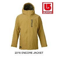 2016 BURTON バートン ジャケット ENCORE JACKET TEXTURED EVILO