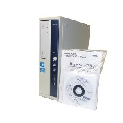 Windows7 第2世代 Core i3搭載 中古パソコンNEC Mate MJ33LB-D (PC-MJ33LBZCD)Core i3-2120 3.3GHz/2GB/250GB/DVD-ROM...