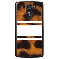 【送料無料】 ROTM Leopard ホワイト (クリア) design by ROTM / for LG G3 BEAT LG-D722J/UQ mobile 【SECOND SKIN】lg...