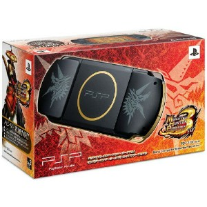 【中古】PlayStation Portable MONSTER HUNTER PORTABLE 3rd ハンターズモデル (限定版)PSP ゲーム機本体