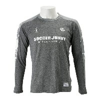 【SOCCER JUNKY】 サッカージャンキー Foot Routine ロングプラシャツ SJ16515 WSP 137HBLK