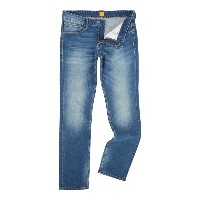 ヒューゴボス メンズ ボトムス ジーンズ【Hugo Boss Orange 63 slim fit dark wash jean】Denim Dark Wash