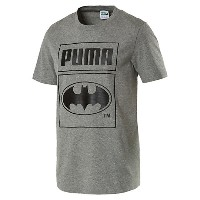 プーマ BATMAN PACK TEE FM メンズ Medium Gray Heather