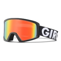 (取寄)ジロ ブローク フラッシュ スキー ゴーグル Giro Men's Blok Flash Ski Goggles Black Futura/Persimmon Blaze