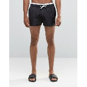 ASOS エイソス Swim Shorts ショーツ With Double Waistband Detail In Super Short Length