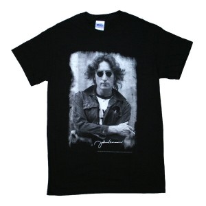 John Lennon / NYC Jacket Tee (Black)