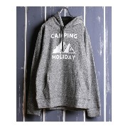 【SALE/30%OFF】NAVAL Select (M)両面パイル起毛プルパーカー【CAMPING HOLIDAY ナバル カットソー【RBA_S】【RBA_E】