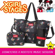 X-girl stages ルートート エックスガール ステージス マザーズバッグ【DISNEY/XGS/ROOTOTE/MUSIC SESSION】ディズニー ミッキーとミニー 2way 軽量...