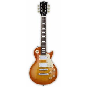 GrassRoots Mini Guitar Series G-LPS-MINI/2H(Vintage Honey Burst)グラスルーツ ミニエレキギター *ソフトケース付き