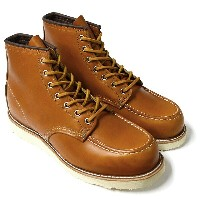 "レッドウィング アイリッシュセッター RED WING 9875 Irish Setter 6"" Moc-toe Gold Russet ""Sequoia"""