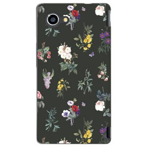 【送料無料】 SINDEE 「Botanical (ブラック)」 / for AQUOS Xx2 mini 503SH/SoftBank 【SECOND SKIN】【ハードケース】aquos xx2...