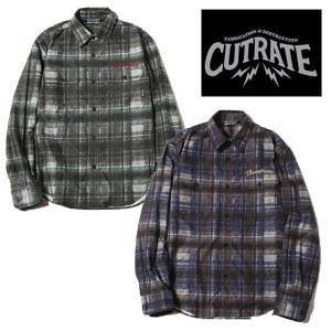 CUT RATE カットレイト L/S CHECK SHIRT 長袖シャツ