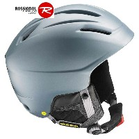 ROSSIGNOL ロシニョール RH2 - MIPS 〔スキー ヘルメット プロテクター〕 (GRAY):RKEH205-F[34SS-out]