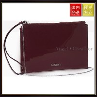 【MAX Co】Leather clutch with zip MJCLUTCH Burgundy Max Co.(マックス コー) バイマ BUYMA