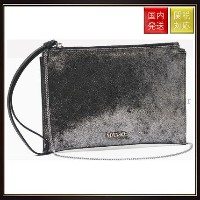 【MAX Co】Leather clutch with zip MJCLUTCH Silver Max Co.(マックス コー) バイマ BUYMA