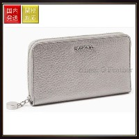 【MAX Co】Leather wallet with zip MJWALLET Light Grey Max Co.(マックス コー) バイマ BUYMA