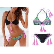 VS☆Reversible Lace-Up Halte rリバーシブル水着 国内発送 Victoria's secret(ヴィクトリアシークレット) バイマ BUYMA