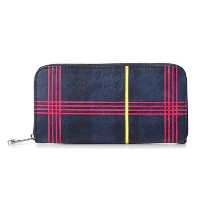 【etre cecile】Continential Wallet Navy(ET001) Etre Cecile(エトレ セシル) バイマ BUYMA