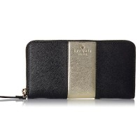 ケートスペード Cedar Street Racing Stripe Lacey Wallet BK kate spade new york(ケイトスペード) バイマ BUYMA