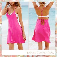 ★Victoria's secret★セール!Tie-back Cover-up Dress 349-415 Victoria's secret(ヴィクトリアシークレット) バイマ BUYMA