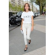 Alexa Chung for AG Brianna Skinny in Sulfur Natural AG/ADRIANO GOLDSCHMIED(エージー/アドリアーノゴールドシュミット)...