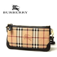 14AW新作 ☆Burberry☆ Haymarket Check Clutch Bag (2way)♪ Burberry(バーバリー) バイマ BUYMA
