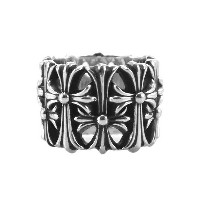 CHROME HEARTS CEMETERY RING クロムハーツ セメタリークロス リング