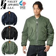 Valley Apparel バレイアパレル MADE IN USA MA-1 フライトジャケット 送料無料 メンズ mss WIP