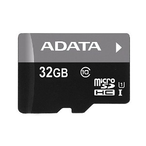 A-DATA Technology Premier microSDHC UHS-I U1 Class10 メモリーカード 32GB AUSDH32GUICL10-R