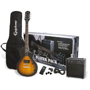 Epiphone エピフォン エレキギター Vintage Sunburst Player Pack Les Paul Special II