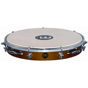 "MEINL Percussion マイネル パンデイロ Traditional Wood Pandeiro 10"" PA10CN-M 【国内正規品】"