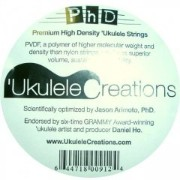 PhD Premium High Density Ukulele Strings(ソプラノ・コンサート用Low-Gセット)