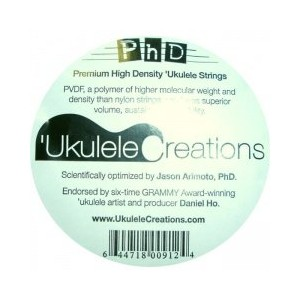 PhD Premium High Density Ukulele Strings(テナー用Low-Gセット)