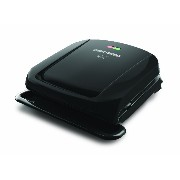 George Foreman ジョージフォアマン GRP1060B 4 Serving Removable Plate Grill, Black グリル [並行輸入]