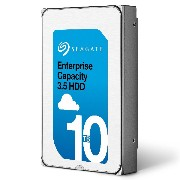 Seagate Enterprise Capacity 10TB 3.5inch 内蔵HDD 256MBキャッシュ 7200rpm SATA 6Gb/s ST10000NM0016
