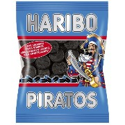 HARIBO - ハリボー - PIRATOS -125g - 4,22 oz - 海賊-125g - 4.22オンス