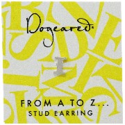 [ドギャード] DOGEARED from a to z earring, SS, little I V3SSZ00210804