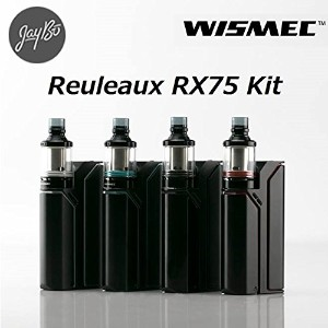 WISMEC Reuleaux RX75kit with Amor Mini【VTC4電池付】 [ルーローRX75+アムールミニ] (Black&White)